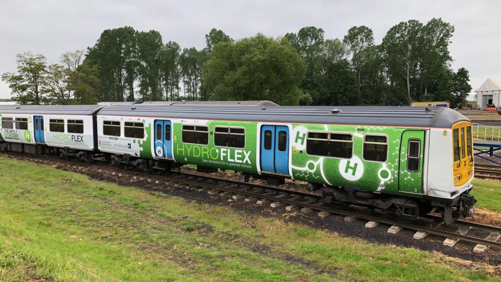 BBC: Next stop, hydrogen-powered trains.
