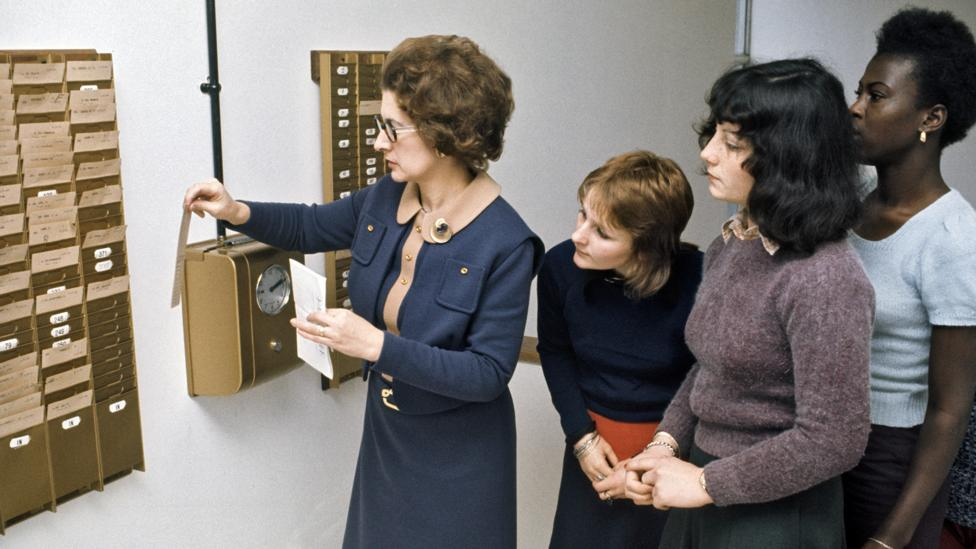 "It was the monetisation of time that turned it into commodity in itself and led to workers having to ""clock on"" at the start of their shift (Credit: Alamy)"