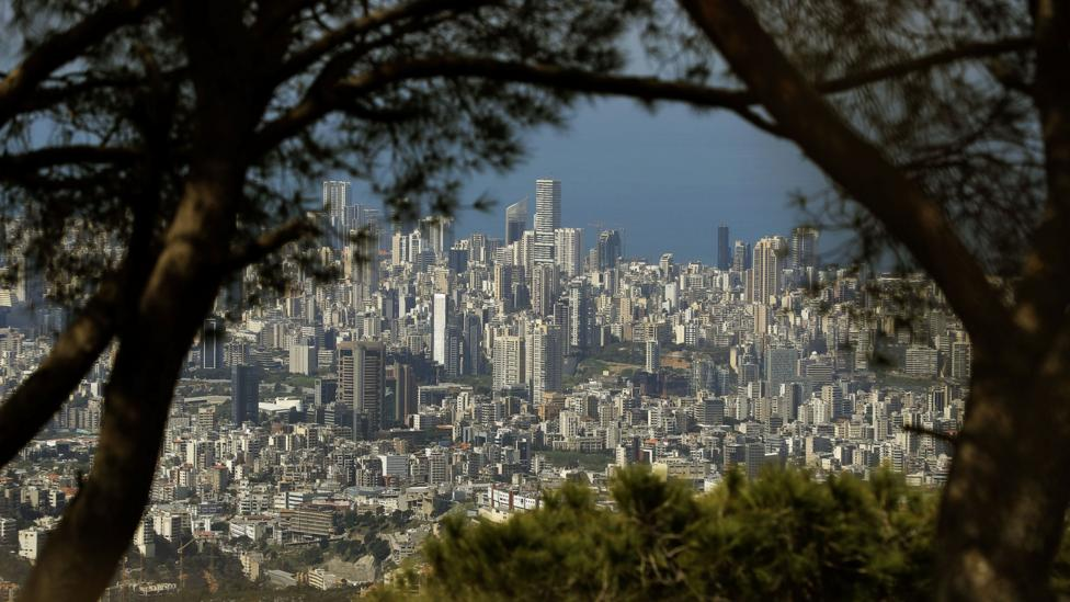 The skies have cleared around Beirut, Lebanon (Credit: Getty Images)