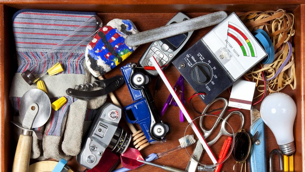 Buried amongst the junk in our household drawers are devices that contain valuable metals and minerals (Credit: Getty Images)
