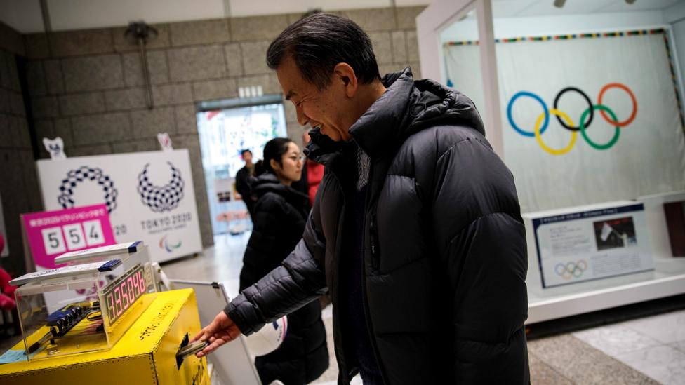 People from all over Japan donated their old electronic devices to provide metal for 5,000 gold, silver and bronze Olympic medals (Credit: Getty Images)