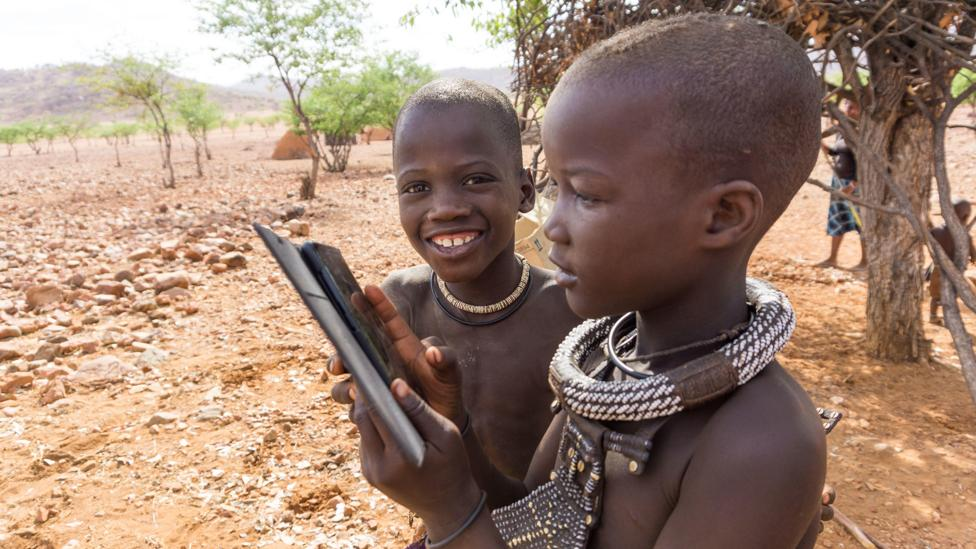 As more people in indigenous cultures get online, there is a risk that their own languages will become increasingly irrelevant if they cannot use them (Credit: Getty Images)