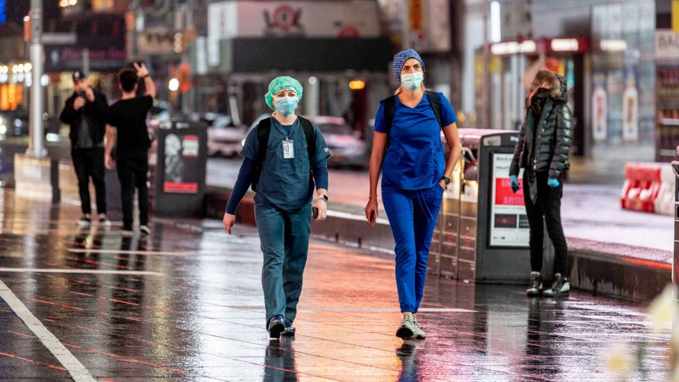Studies suggest that persistently high levels of air pollution have significantly increased deaths from Covid-19 (Credit: Getty Images)