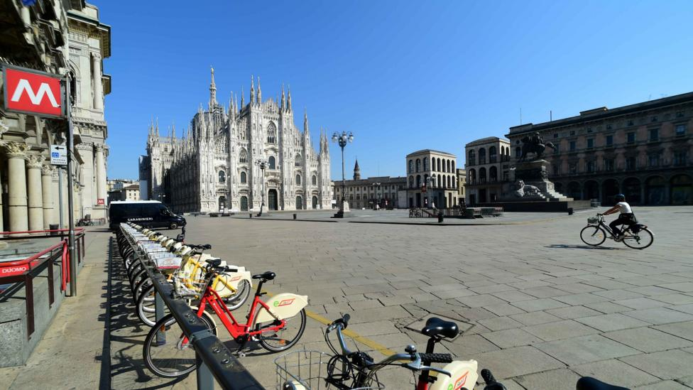 Milan has announced a plan to encourage low-emission methods of transport when coronavirus lockdown lifts (Credit: Getty Images)