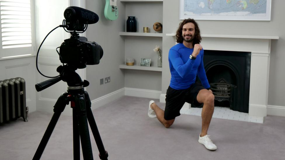 Home workouts as essential viewing: Jane Fonda to Joe Wicks - BBC Culture