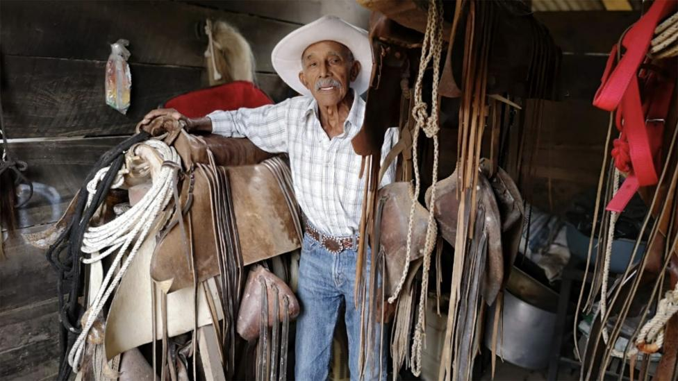 Ramiro Guadamuz is almost 90. Living long hasn't been a goal of his – just a side effect of being happy with his lot (Credit: Ramiro Guadamuz)