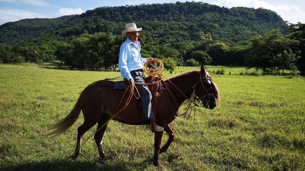 José Bonafacio Villegas retired at 95 – 30 years after the standard retirement age in Costa Rica (Credit: Jorge Vindas)
