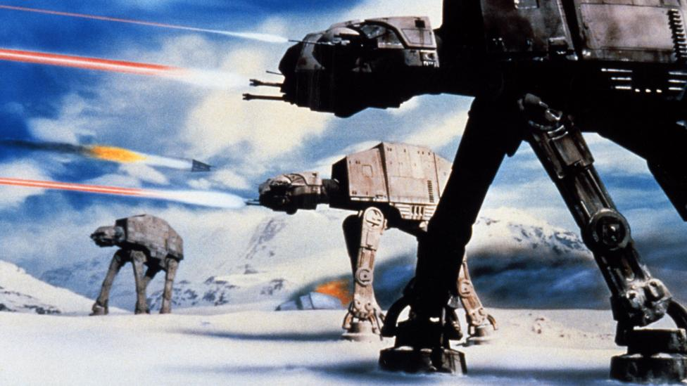The Empire Strikes Back is a gloomier, more convoluted and repetitive film than Star Wars – and its production design isn't on the same level