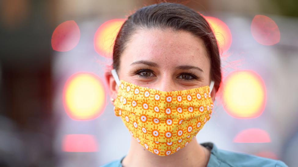 To be most effective, more than 80% of the population need to adopt face mask wearing in order to control the spread of Covid-19 (Credit: Getty Images)