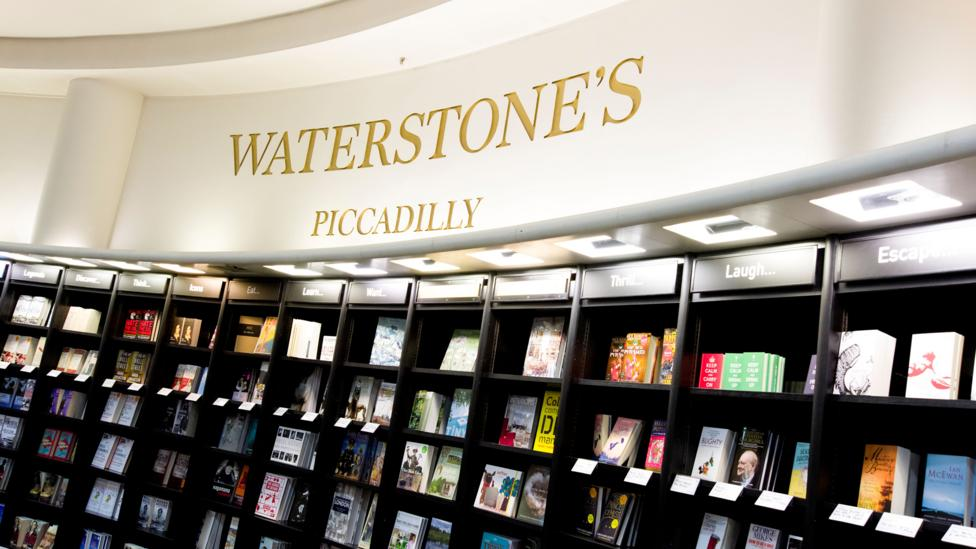 """In the UK, booksellers Waterstones reported """"an enormous, Christmas-like boom in sales"""" just before lockdown"""