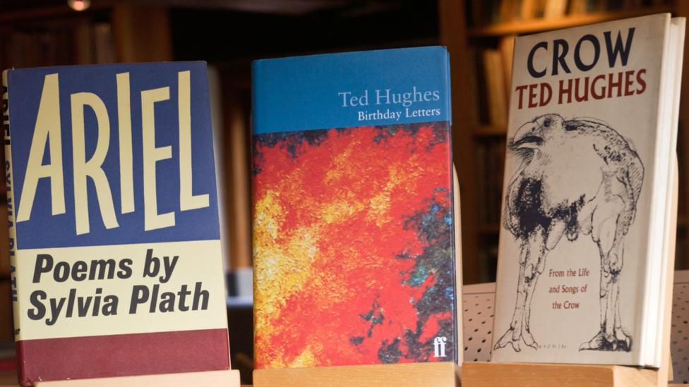 Publishers Faber have reported a surge in interest for poetry classics, with sales of Sylvia Plath's 1965 collection Ariel (left) up 59% in the last fortnight