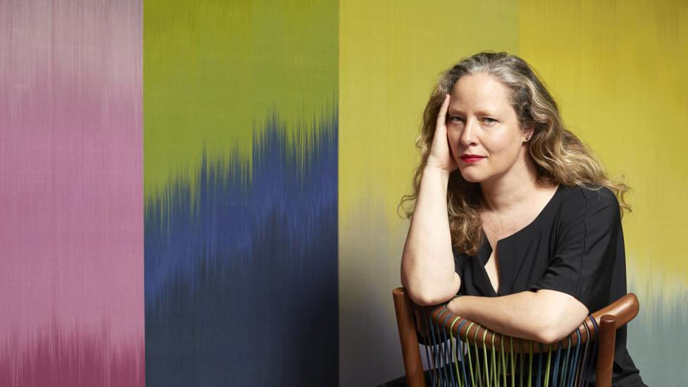 Woven textile artist and colour consultant Ptolemy Mann embraces secondary hues in her work (Credit: Circe Hamilton)