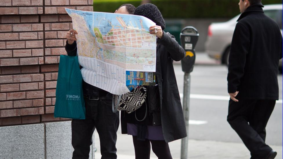 In a 'travelling salesman experiment,' participants were given a map of 25 cities and needed to work out the shortest journey passing through them all (Credit: Getty Images)