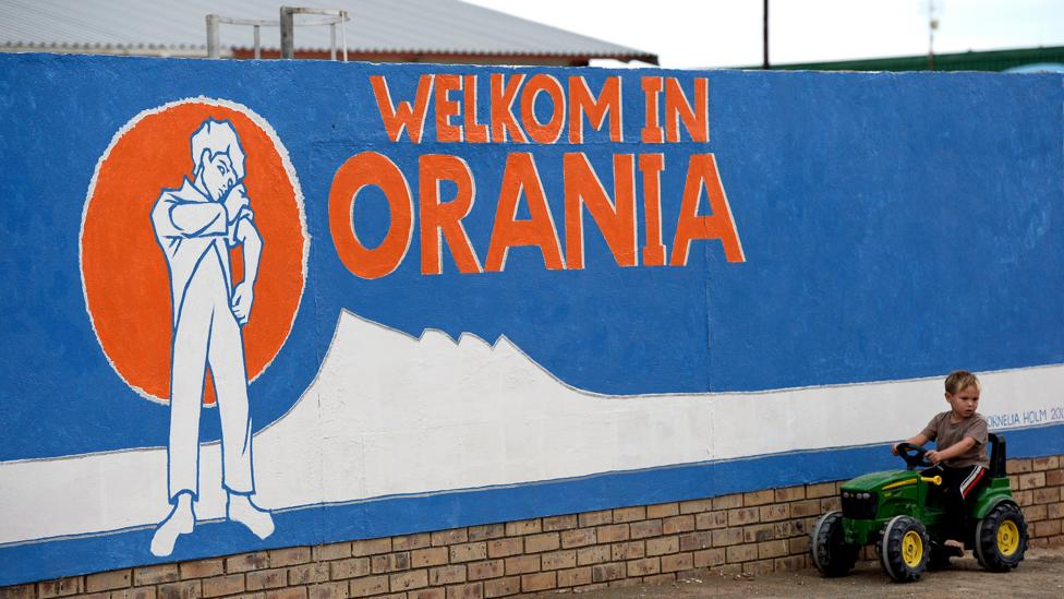 Orania is a small yet controversial, exclusively-white settlement of 1,600 Afrikaners where the language is held on to (Credit: Getty Images)