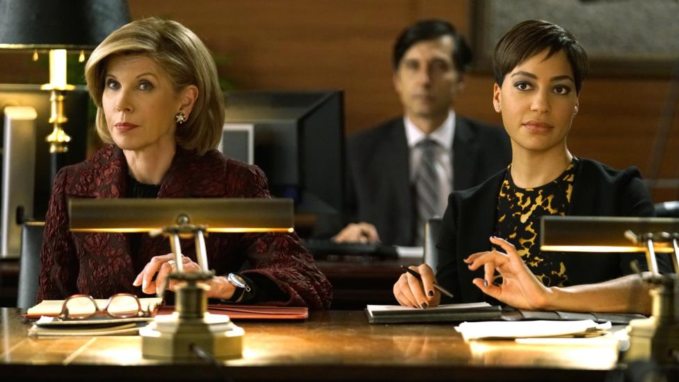 An episode of the legal drama The Good Fight is set during an imaginary Hillary presidency (Credit: CBS All Access)