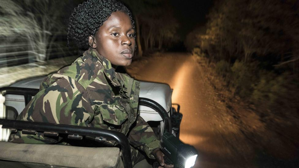 Anti-poaching rangers play a vital role in monitoring wildlife parks, but some have been less able to get into the field during national lockdowns (Credit: Getty Images)