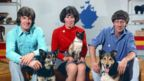 Blue Peter presenters Peter Purves, Valerie Singleton and John Noake