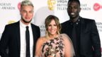 Chris Hughes, Caroline Flack and Marcel Somerville