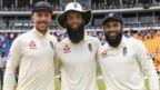 England spinners Jack Leach, Moeen Ali and Adil Rashid