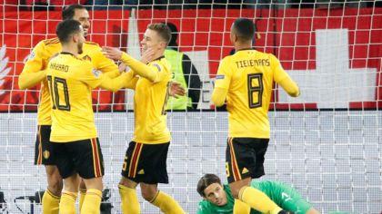 Switzerland 2-2 Belgium in Nations League decider & Spain 0-0 Bosnia-Herzegovina